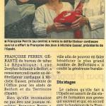 """""""Un défibrillateur offert à l'Office pour les aînés"""" - Est Républicain 04/07/2014"""