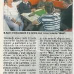 """""""20e anniversaire du concours de belote"""" - Est Républicain 23/10/2014"""