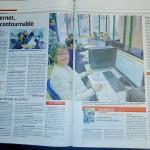 """Dossier """"Internet dans l'Aire Urbaine"""" - Est Républicain 06/02/17"""