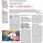 """""""Au service des cyber'aînés"""" - Vivre le Territoire n° 139"""